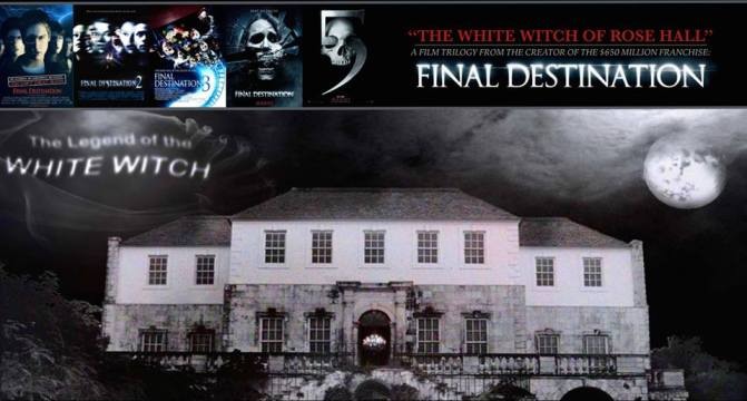 A trilogy of films about the legend of Annie Palmer - The White Witch of Rose Hall. Written and Executive Produced by the creator of the $650 million franchise, FINAL DESTINATION.