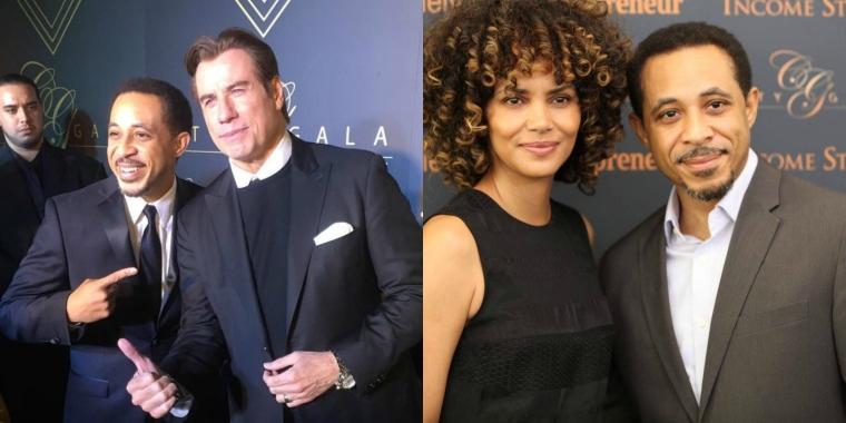 Dale Godboldo, John Travolta, Halle Berry