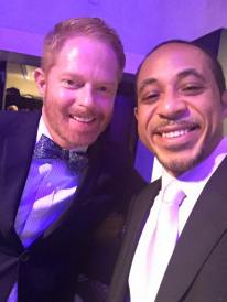 Here with Jesse Tyler Ferguson from Modern Family